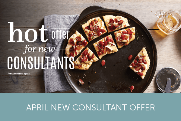 April New Consultant Offer