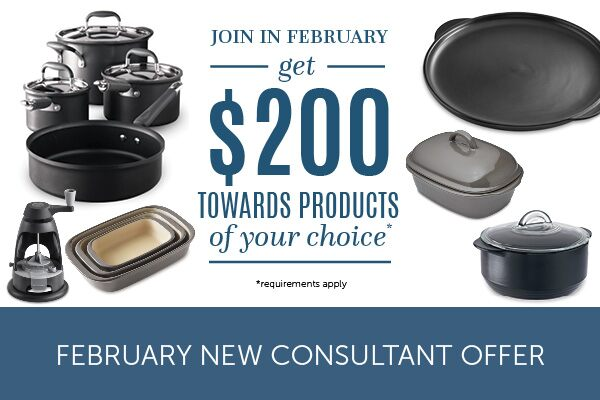 February New Consultant Offer