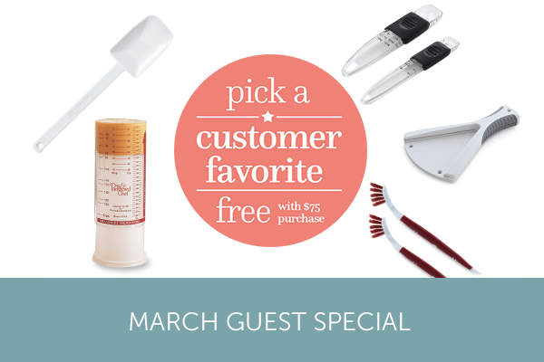 March Guest Offer