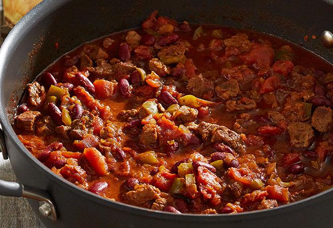 Chunky Beef & Chili