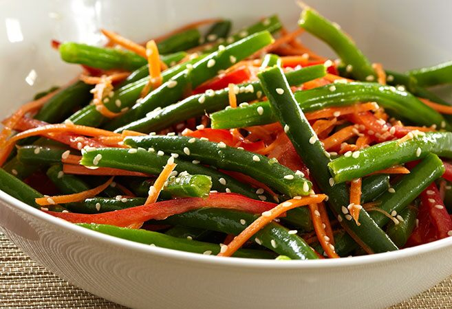 Citrus-Spiked Bean Salad