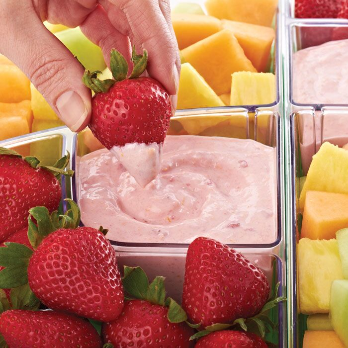 Fruit Platter and Fruit Dip