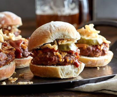 Burgers with all the Fixins