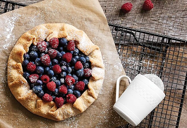 Double Berry Galette