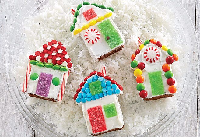 Easy Gingerbread Houses