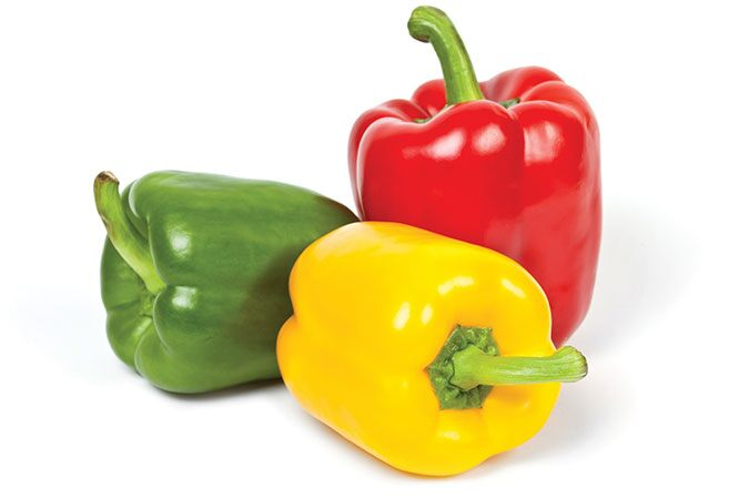 How do you pick bell peppers
