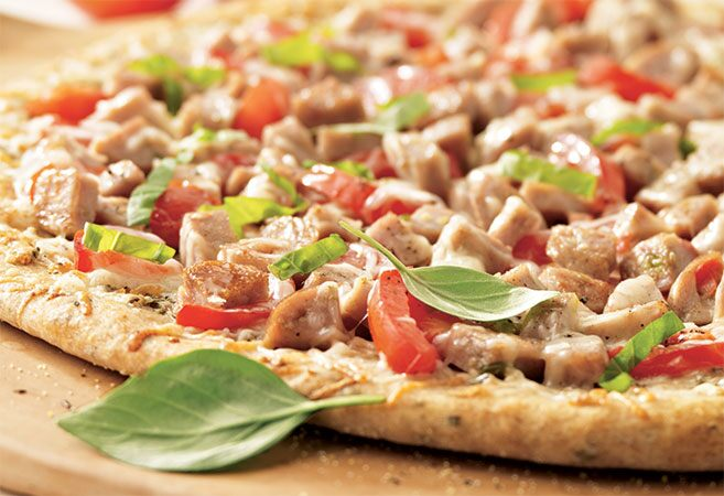 Chicken Sausage & Herb Wheat Pizza