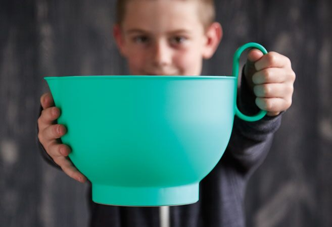 Mixing bowl for kids