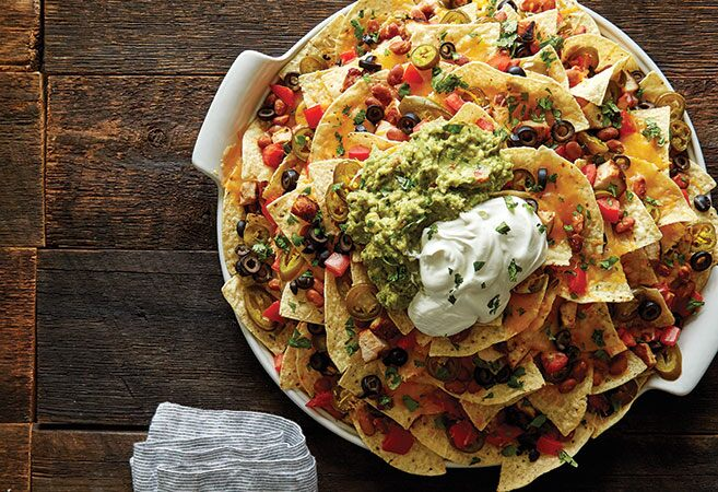 Mile High Nachos