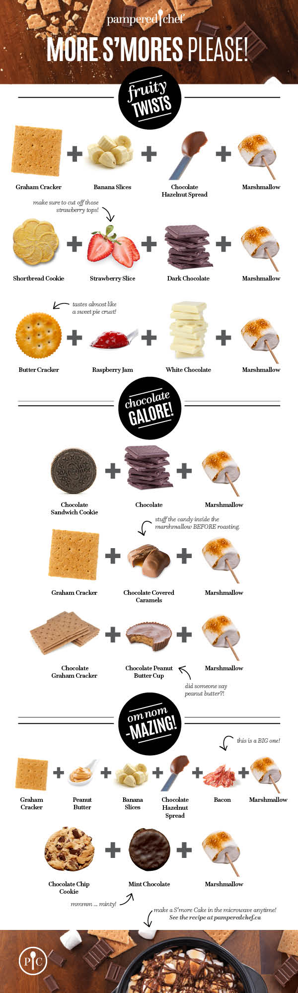 More S'mores Infographic