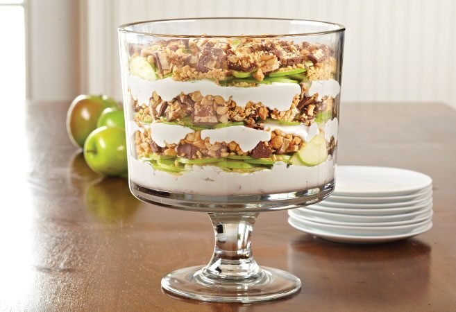 Peanutty Apple Trifle