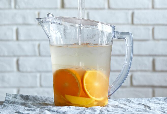 Mango Infused Water