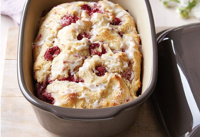 Berry Ricotta Cake with Lemon Icing