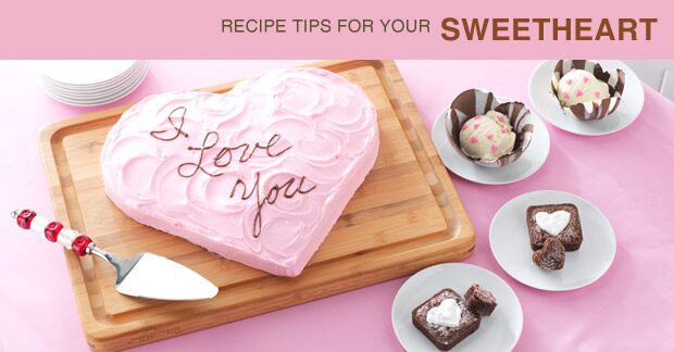 Recipe Ideas for your Sweetheart