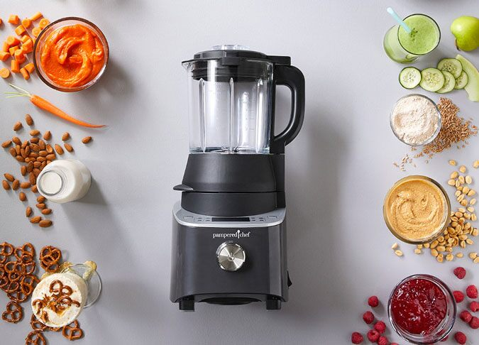 Deluxe Cooking Blender Pampered Chef Us Site