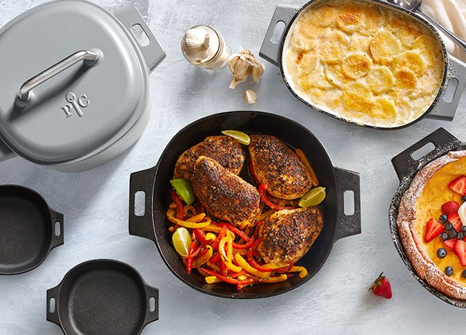 Our Cast Iron Cookware Collection
