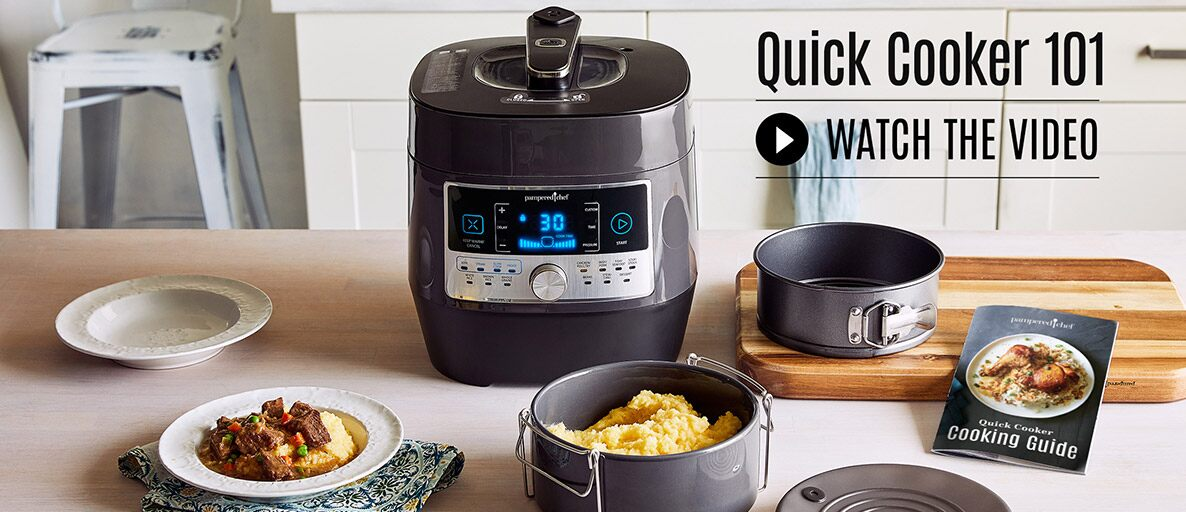 Quick Cooker 101 Watch Video