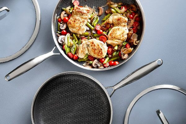 stainless steel nonstick pans