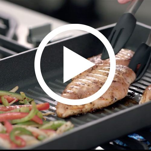 Play Nonstick Double Burner Grill Video