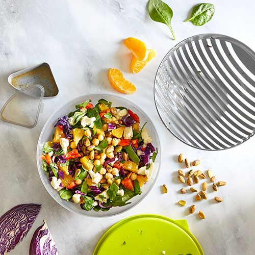 Salad Cutting Bowl