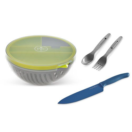 Salad Cutting Bowl Set