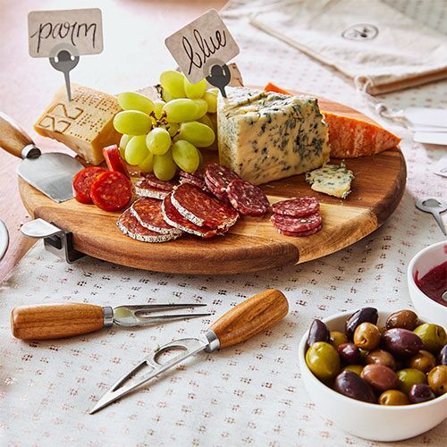 Premium Charcuterie Amp Cheese Board Set Shop Pampered