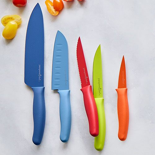 Coated Knife Set