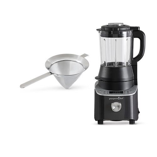 Deluxe Cooking Blender & Strainer Set