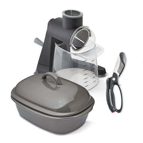 Deep Covered Baker Meal Set