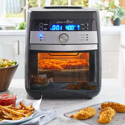 Deluxe Air Fryer Shop Pampered Chef Us Site