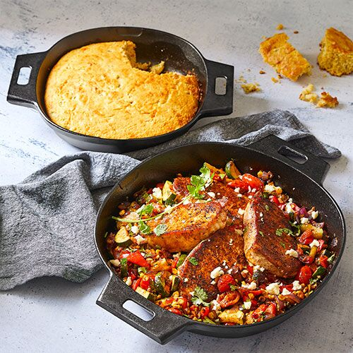 Cast Iron Skillet Set