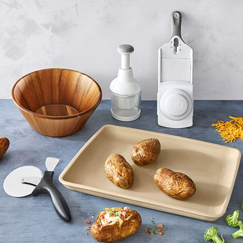Stone Bar Pan Meal Set