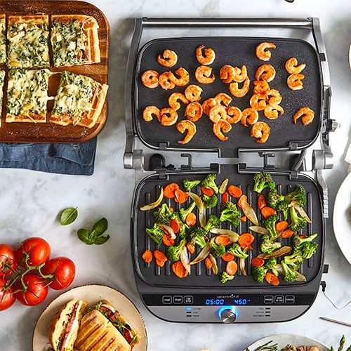 Deluxe Electric Grill & Griddle