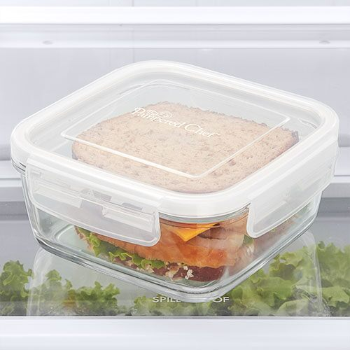 3 Cup 750ml Leakproof Gl Container