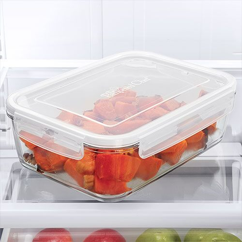 8¼-cup Leakproof Glass Container