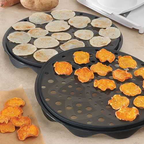 Microwave Chip Maker Set Shop Pampered Chef Us Site