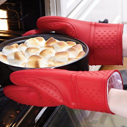Silicone Oven Mitt Set Shop Pampered Chef Us Site