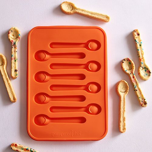 Silicone Spoon Mold Shop Pampered Chef Us Site