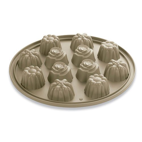 Silicone Floral Cupcake Pan Shop Pampered Chef Canada Site
