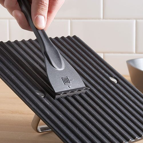 Grill Pan & Press Scraper