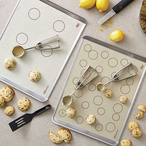 Reversible Silicone Baking Mat Shop Pampered Chef Us Site