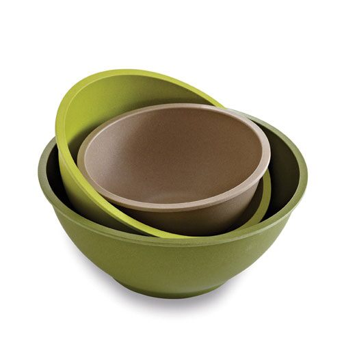 Bamboo Fiber Mixing Bowl Set