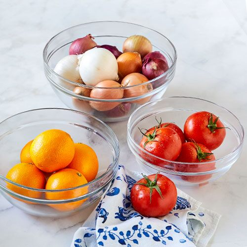 Glass Mixing Bowl Set - Shop | Pampered Chef US Site