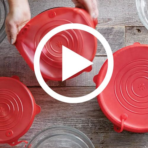 Play Stretch-Fit Silicone Lid Set Video