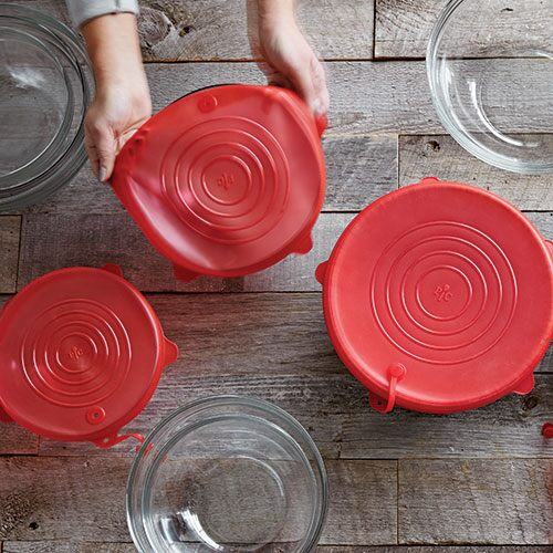 Stretch-Fit Silicone Lid Set ...  sc 1 st  P&ered Chef & Stretch-Fit Silicone Lid Set - Shop   Pampered Chef US Site