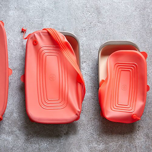 Rectangular Stretch-Fit Silicone Lids