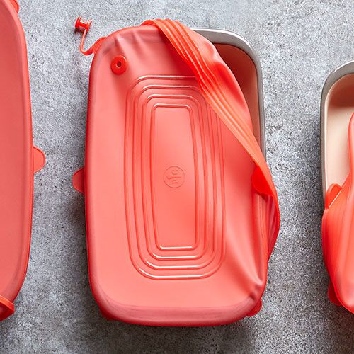 Medium Rectangular Stretch-Fit Silicone Lid