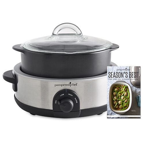 Rockcrok® 4-qt. Slow Cooker Set