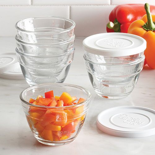 1-cup(250ml) Prep Bowl Set