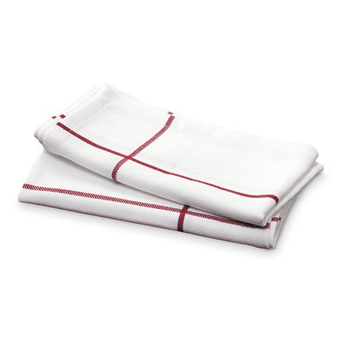 White Windowpane Napkin Set